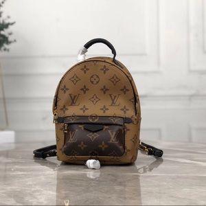 Louis Vuitton Palm Springs Mini Tan Backpack
